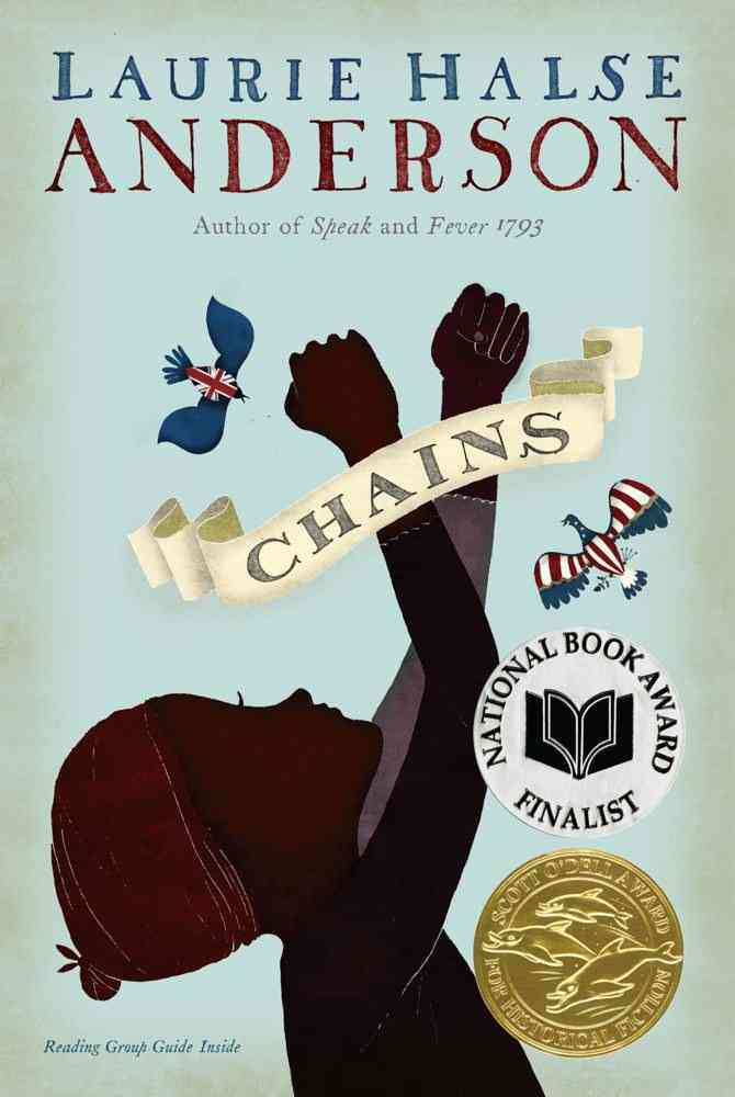 Thereadingwarehouse Chains Seeds Of America Laurie Halse Anderson